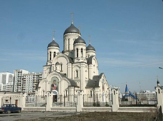 Храм в честь иконы Божией матери Утоли моя печали в Марьино