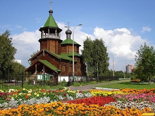 Храм Св. прав. Иоанна Кронштадтского в Жулебино